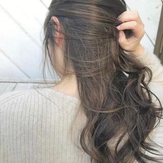 インナーカラー 外国人風カラー ナチュラル ヘアアレンジ ヘアスタイルや髪型の写真・画像