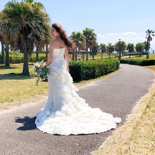結婚式 ヘアセット ダウンスタイル ブライダル ヘアスタイルや髪型の写真・画像