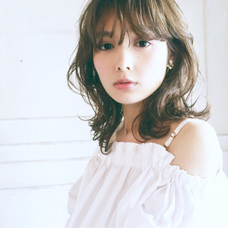 外国人風 フェミニン ゆるふわ 大人かわいい ヘアスタイルや髪型の写真・画像