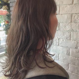 外国人風 インナーカラー 色気 アッシュ ヘアスタイルや髪型の写真・画像