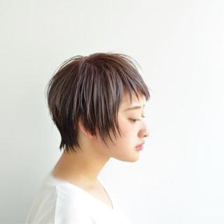 ショート モード 大人女子 かっこいい ヘアスタイルや髪型の写真・画像