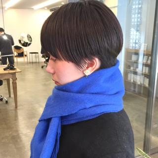 ショートヘア 大人ショート ベリーショート ナチュラル ヘアスタイルや髪型の写真・画像