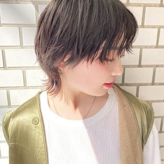 ベリーショート ウルフカット ミニボブ ショートボブ ヘアスタイルや髪型の写真・画像