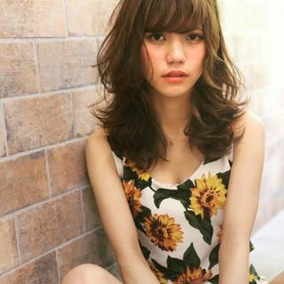 ハイライト 大人かわいい ストリート パーマ ヘアスタイルや髪型の写真・画像