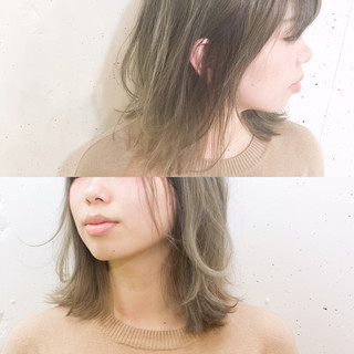 ゆるふわ 外国人風 ストレート ストリート ヘアスタイルや髪型の写真・画像