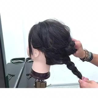 色気 デート 涼しげ 女子会 ヘアスタイルや髪型の写真・画像