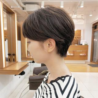 ふんわり ショートヘア ふんわりショート 大人可愛い ヘアスタイルや髪型の写真・画像