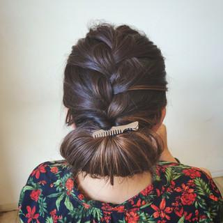 大人可愛い セミロング 結婚式 エレガント ヘアスタイルや髪型の写真・画像 ヘアスタイルや髪型の写真・画像