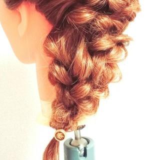 結婚式 大人かわいい ゆるふわ ブライダル ヘアスタイルや髪型の写真・画像