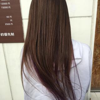 外国人風 外国人風フェミニン 外国人風カラー ロング ヘアスタイルや髪型の写真・画像