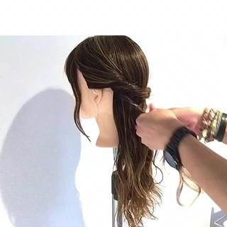 アウトドア セミロング オフィス ショート ヘアスタイルや髪型の写真・画像