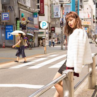 ミディアム 外国人風 ストリート くせ毛風 ヘアスタイルや髪型の写真・画像
