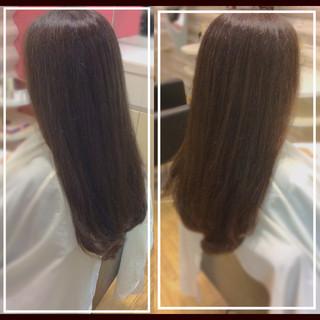 髪質改善 髪質改善トリートメント ロング 社会人の味方 ヘアスタイルや髪型の写真・画像