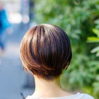 ベリーショート ミニボブ ショートヘア ショート ヘアスタイルや髪型の写真・画像