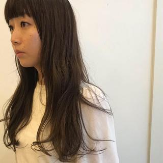 ロング パーマ ヘアアレンジ 女子力 ヘアスタイルや髪型の写真・画像