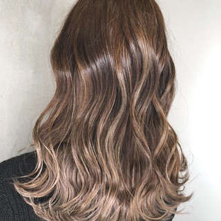 アウトドア セミロング デート 簡単ヘアアレンジ ヘアスタイルや髪型の写真・画像