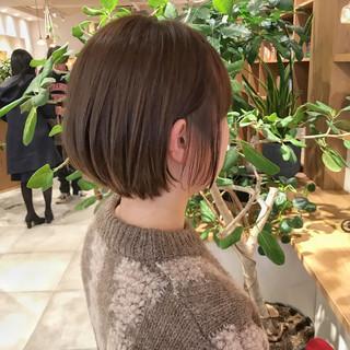 大人ショート ショートヘア ショートボブ ミニボブ ヘアスタイルや髪型の写真・画像