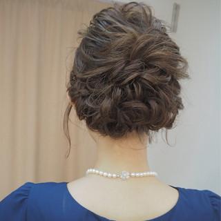 結婚式 デート フェミニン 女子会 ヘアスタイルや髪型の写真・画像