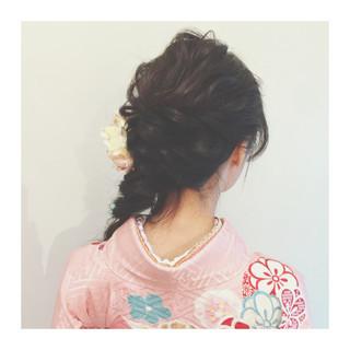 ゆるふわ ヘアアレンジ ハーフアップ 簡単ヘアアレンジ ヘアスタイルや髪型の写真・画像 ヘアスタイルや髪型の写真・画像