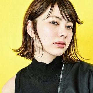 外国人風 大人かわいい 抜け感 ストリート ヘアスタイルや髪型の写真・画像