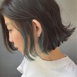 インナーカラー スポーツ ダブルカラー ストリート ヘアスタイルや髪型の写真・画像