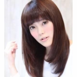 モテ髪 セミロング コンサバ ナチュラル ヘアスタイルや髪型の写真・画像