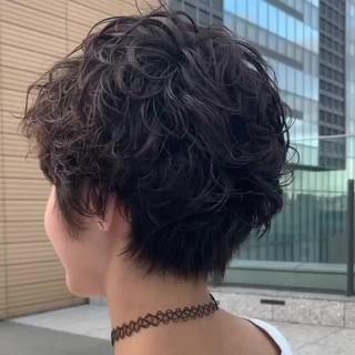 ハンサムショート ショート 阿藤俊也 パーマ ヘアスタイルや髪型の写真・画像