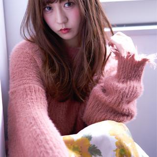 ゆるふわ イルミナカラー 大人かわいい フェミニン ヘアスタイルや髪型の写真・画像