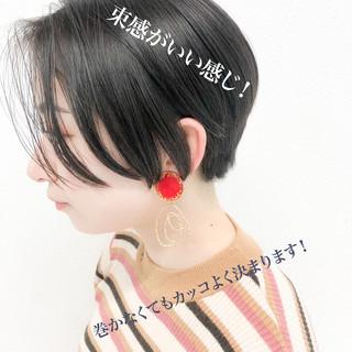 ショートヘア ショート ハンサムショート 福岡市 ヘアスタイルや髪型の写真・画像
