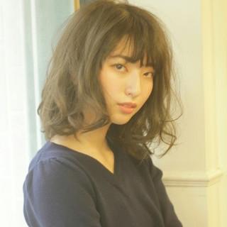 透明感 春 夏 ミルクティー ヘアスタイルや髪型の写真・画像