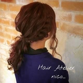 ストリート ロング コンサバ 愛され ヘアスタイルや髪型の写真・画像 ヘアスタイルや髪型の写真・画像