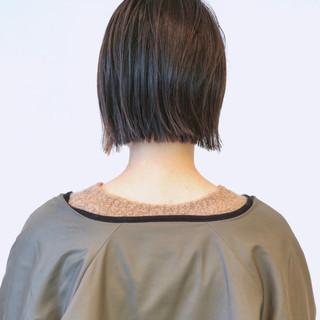 ストリート 黒髪 ボブ ショートボブ ヘアスタイルや髪型の写真・画像