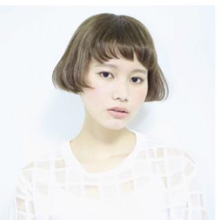 ワイドバング 大人かわいい 前髪あり モード ヘアスタイルや髪型の写真・画像