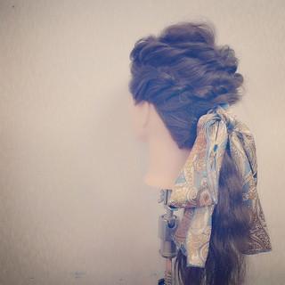 大人かわいい 愛され 二次会 ヘアアレンジ ヘアスタイルや髪型の写真・画像
