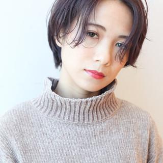 コンサバ 大人かわいい アンニュイほつれヘア ショート ヘアスタイルや髪型の写真・画像