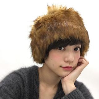 外国人風 ショート ストリート 大人かわいい ヘアスタイルや髪型の写真・画像