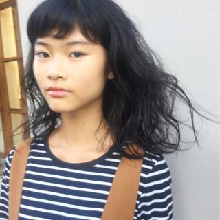 岩城浩子さんのヘアスナップ