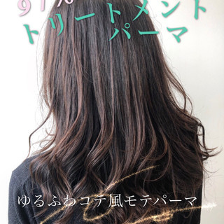 モテ髪 デジタルパーマ 巻き髪 パーマ ヘアスタイルや髪型の写真・画像 ヘアスタイルや髪型の写真・画像
