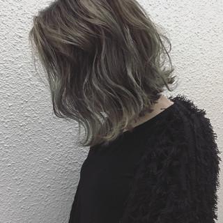 ナチュラル 透明感 外国人風 ボブ ヘアスタイルや髪型の写真・画像