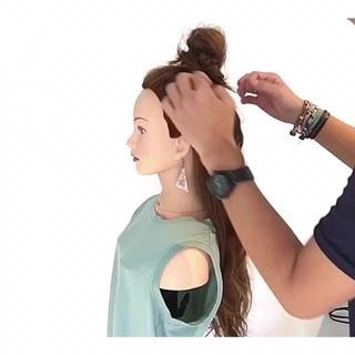 ヘアアレンジ 涼しげ フェミニン 夏 ヘアスタイルや髪型の写真・画像