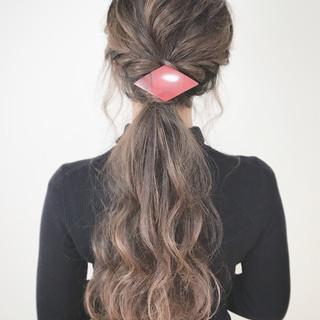 ヘアアレンジ こなれ感 大人女子 大人かわいい ヘアスタイルや髪型の写真・画像