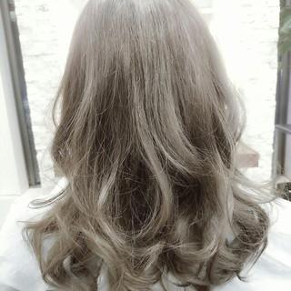 フェミニン ガーリー 大人かわいい グラデーションカラー ヘアスタイルや髪型の写真・画像