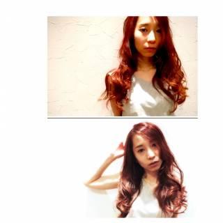 ゆるふわ パンク ロング 大人かわいい ヘアスタイルや髪型の写真・画像