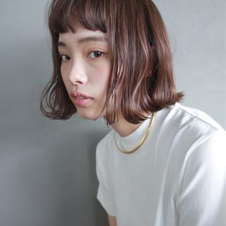 簡単 前髪あり ストリート パーマ ヘアスタイルや髪型の写真・画像