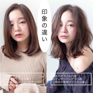 イルミナカラー ヘアアレンジ ナチュラル 簡単ヘアアレンジ ヘアスタイルや髪型の写真・画像