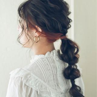 謝恩会 ナチュラル ヘアアレンジ ショート ヘアスタイルや髪型の写真・画像
