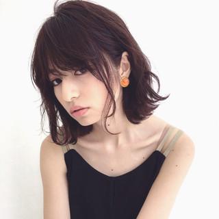ヘアアレンジ リラックス 夏 涼しげ ヘアスタイルや髪型の写真・画像