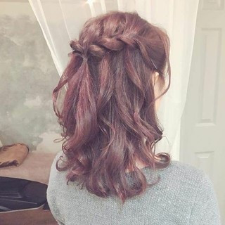 冬 クリスマス デート フェミニン ヘアスタイルや髪型の写真・画像