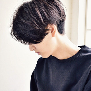 メンズ メンズカジュアル ショート ナチュラル ヘアスタイルや髪型の写真・画像