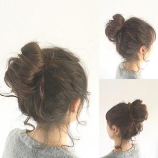 モテ髪 ヘアアレンジ メッシーバン 愛され ヘアスタイルや髪型の写真・画像